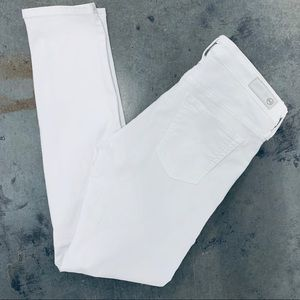 Adriano Goldschmied The Legging Ankle White SZ 25